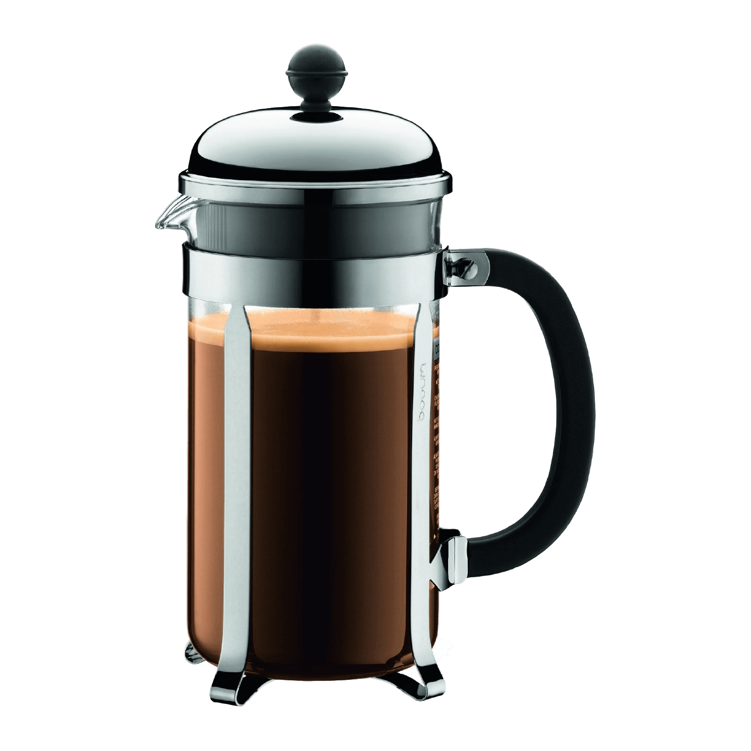Bodum french press replacement glass - Bodum Chambord 8 Cup French Press Coffee Maker 34 Oz Chrome