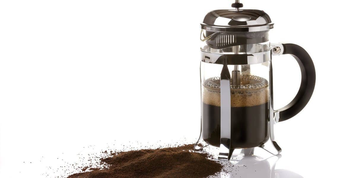 Type of coffee when using a French press