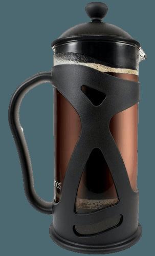 KONA French Press Coffee Tea & Espresso Maker, Black 34oz Teapot