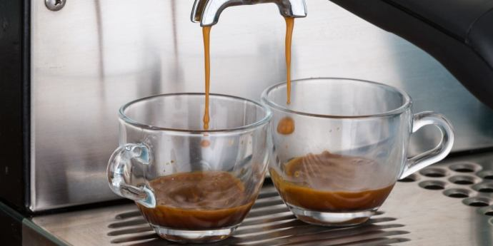 espresso crema preparation