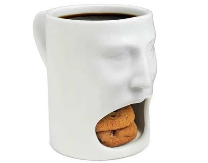 It is a well-known scientific fact that coffee improves the flavor of  cookies (or is it the other way around?), so why would we separate the two  with ...