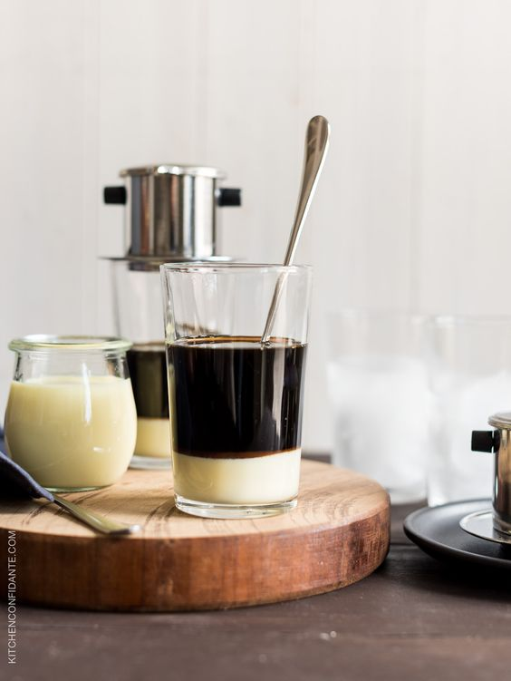 Traditional Vietnamese Iced Coffee How To Make Iced Coffee At Home With Hot Coffee