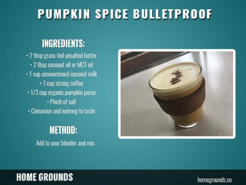 bulletproof pumpkin spice latte recipe shop