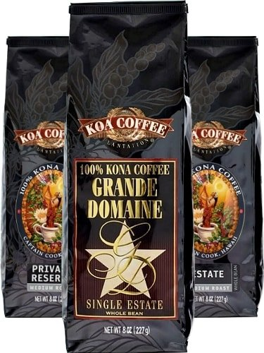 3 pack of Koa Coffee