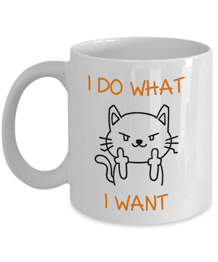 office mugs funny. 4 \u2014 Our Favourite Funny Coffee Mug: Embrace Your Inner Cat Office Mugs M