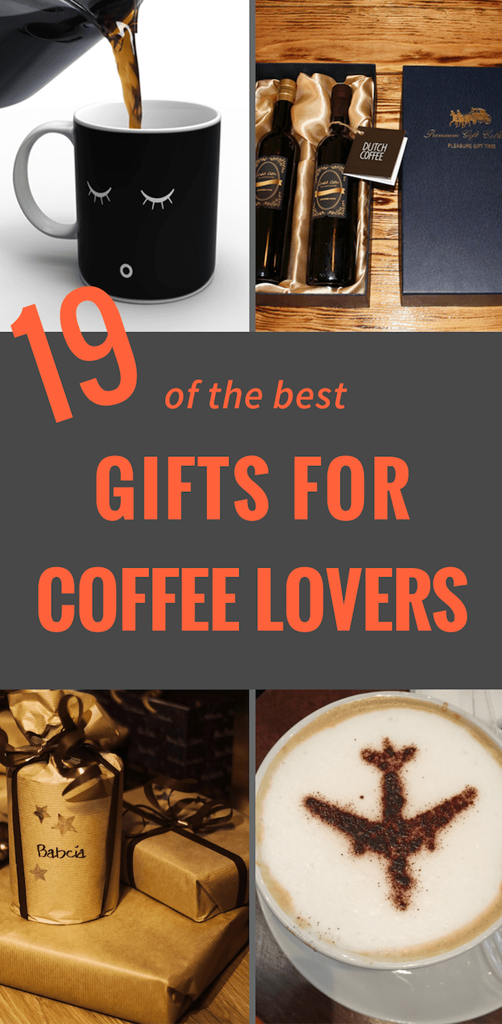 Coffee Gifts For Coffee Lovers: 19 Ideas to Go Bananas Over ...