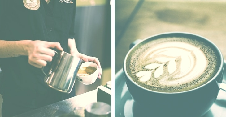 different coffee designs to make the coffee appealing