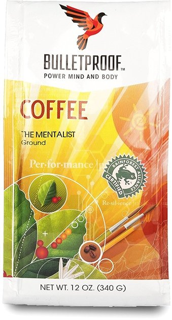 A pack of Bulletproof coffee