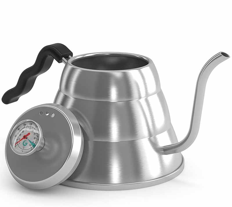The Coffee Gator's Pour Over Kettle
