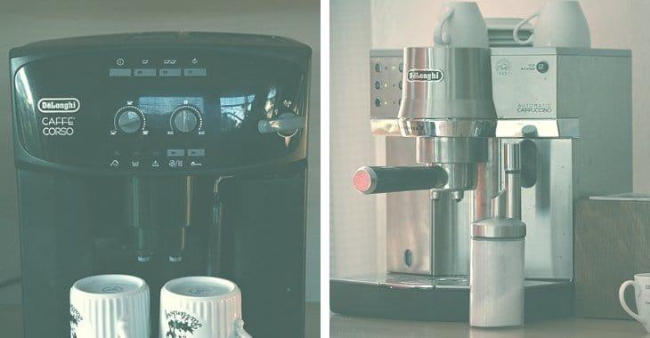 2 types of Espresso Machines
