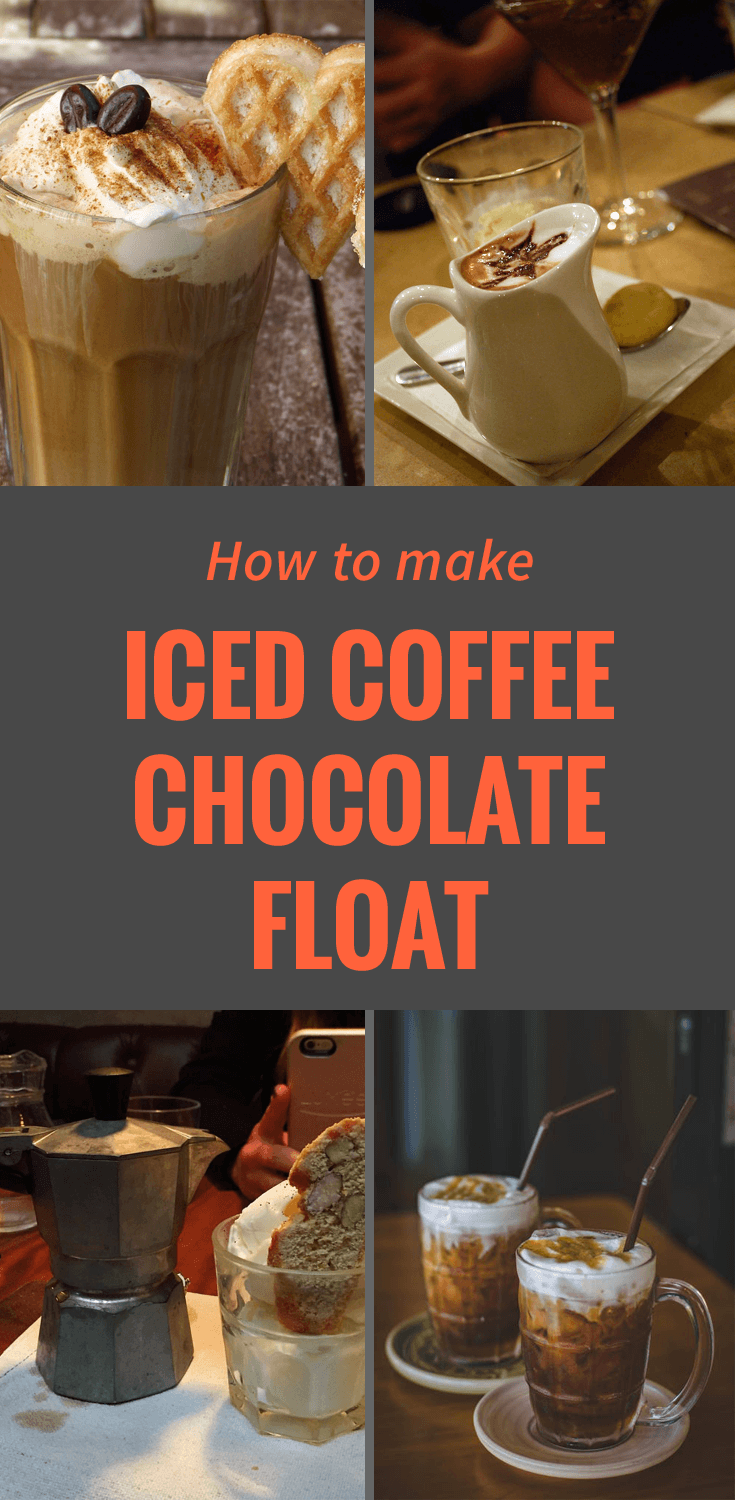 I Home Coffee Maker : How to Make an Iced Coffee Chocolate Ice Cream Float (that will have you craving for more ...