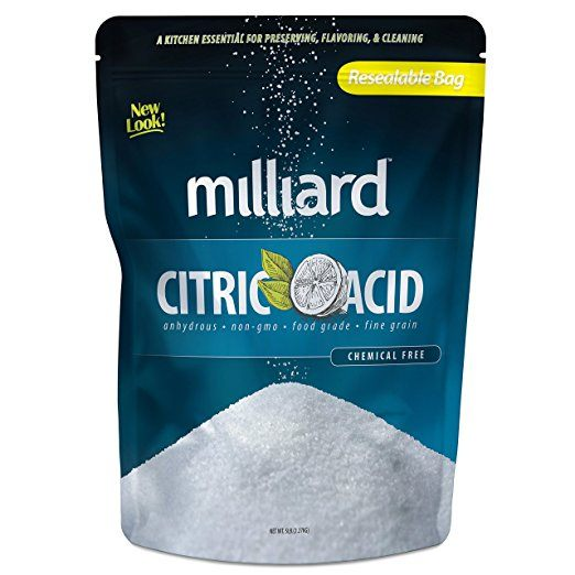 Where to buy food grade citric acid