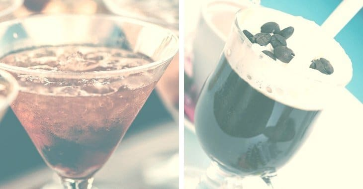 different types of coffee cocktails