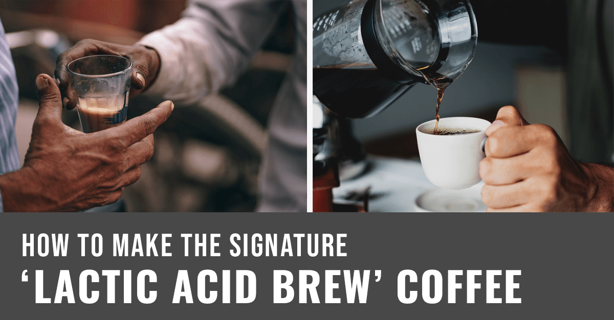 title banner in making lactic acid brew