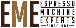 espresso machine experts brand logo
