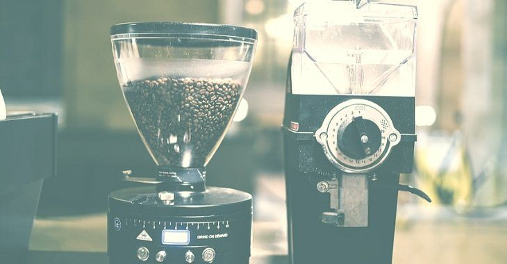 types of coffee grinders