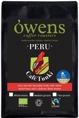 Black pack of Roasted Coffee