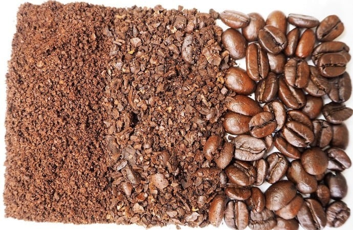 Ground Coffee that can be made using the bodum bistro