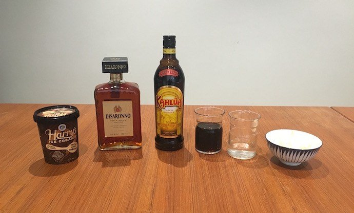 Ingredients of Toddy Amaretto