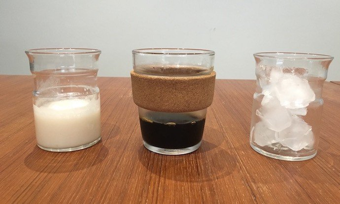 Ingredients of Coconut / Almond / Cashew / Macadamia Nut Cold Drip