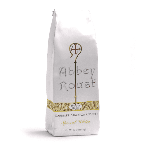 Abbey Roast white coffee beans