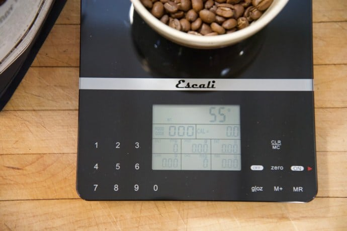 Coffee ratio