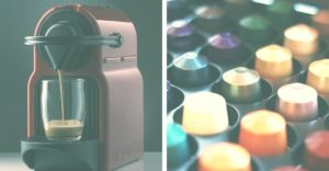 coffee maker and coffee pods