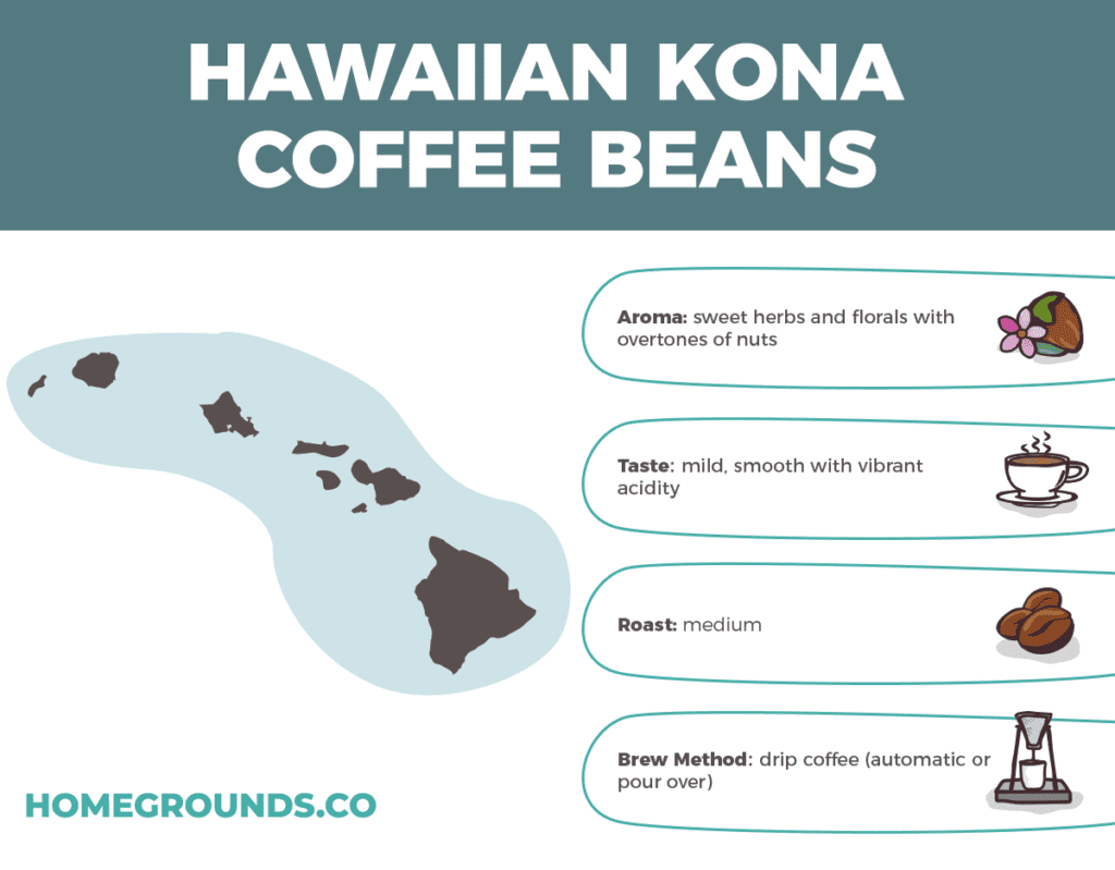 Kona Coffee Beans From Hawaii