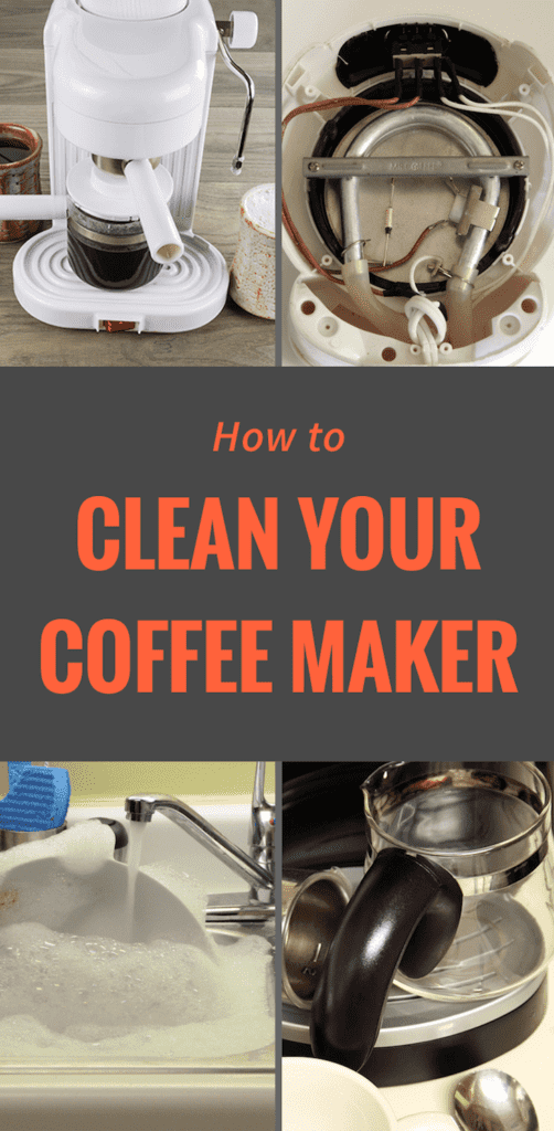 Infographic: How to Clean Your Coffee Pot