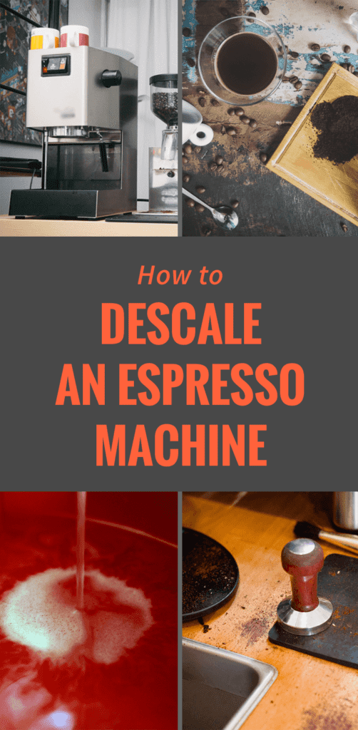 Infographic: Descale An Espresso Machine