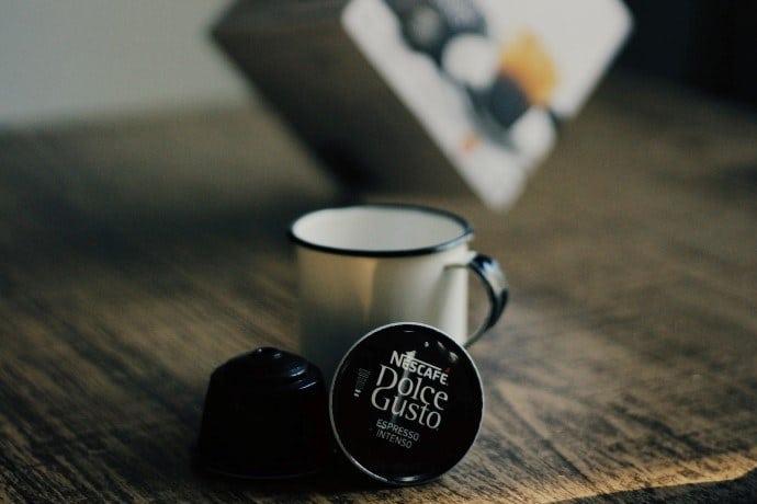 a nescafe dolce gusto coffee pod