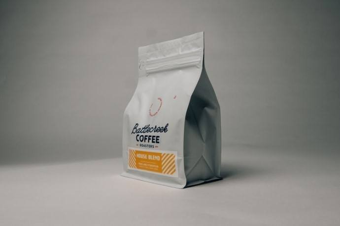 how to store coffee beans option number 2 - a coffee bag with valve