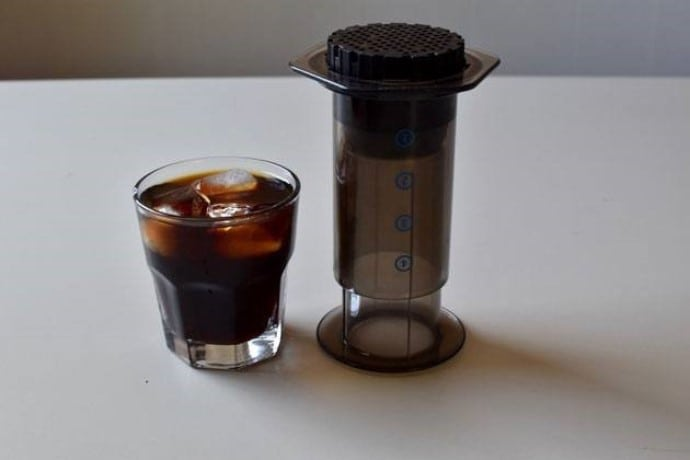 a review of the aeropress and the coffee we made with it