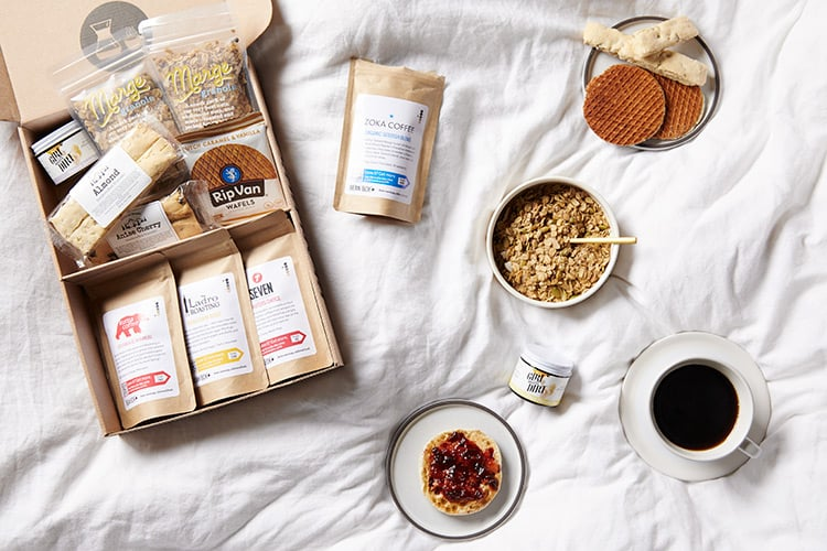 Good Morning Coffee Gift Box By Bean Box