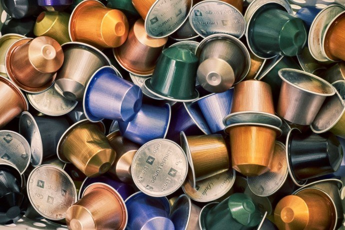 Different Colors of Coffee Capsules