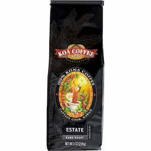 Koa coffee Kona Estate Dark roast