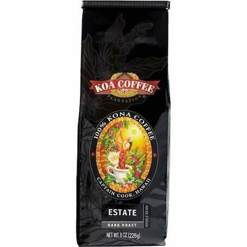 Koa Kona coffee dark roast