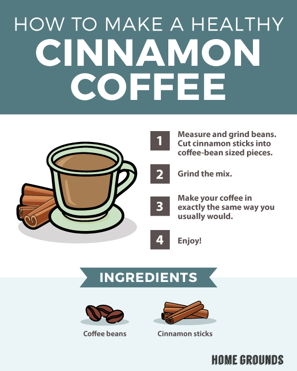 how to make cinnamon coffee