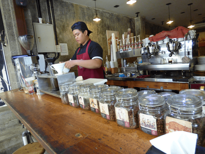 coffee beans at anomoli