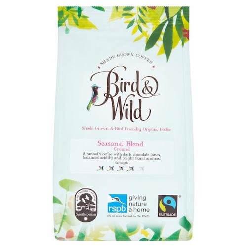 BIRD & WILD RSPB COFFEE, MEDIUM ROAST