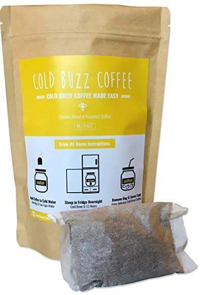 Cold Buzz Coffee Hazelnut