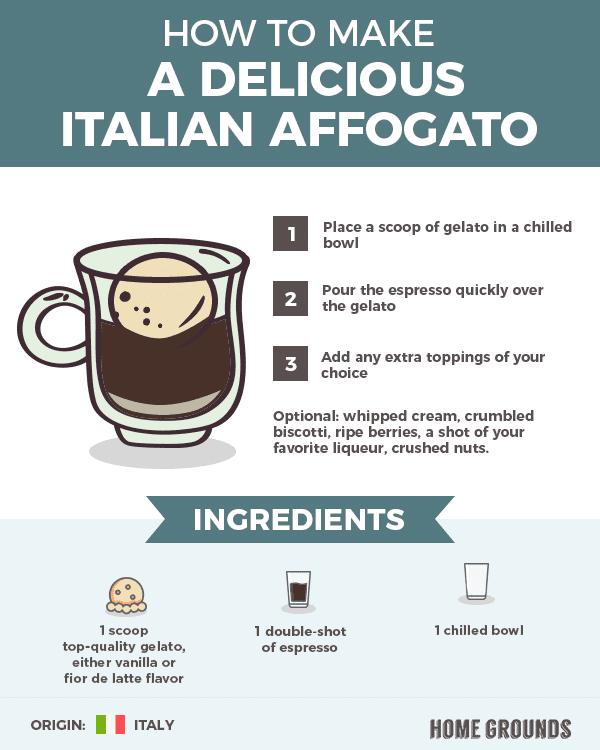 Italian Affogato Receipe