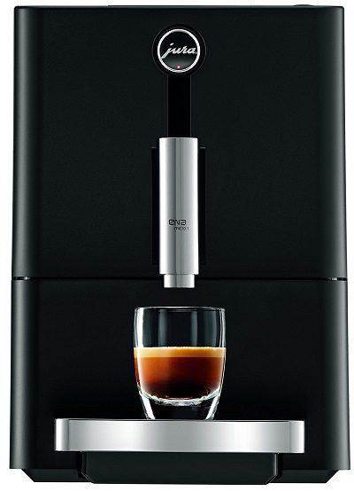 Black Jura ENA Micro 1 Coffee Machine