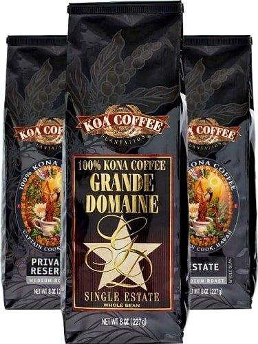 3 pack of Koa Coffee