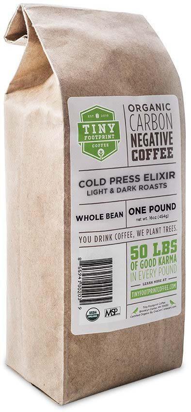 Tiny Footprint Coffee Organic Cold Press