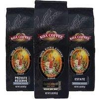 Kona coffee three pack