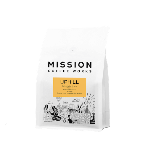 Mission Coffee Works Up Hill