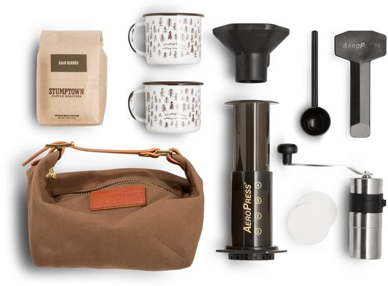 The Rambler from Stumptown Coffee travel kit
