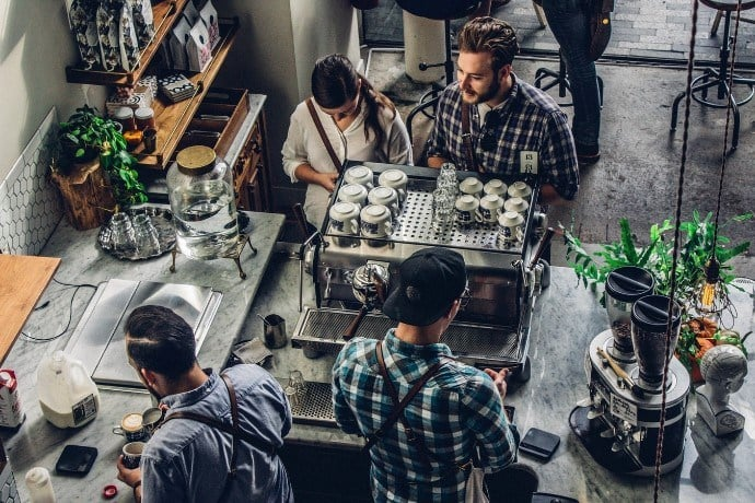a coffee shop equipment list is essential when starting a cafe
