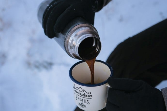 hot coffee for hours - how does vacuum insulation work in coffee thermoses like this